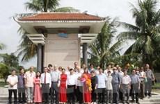 Đại biểu Việt Nam-Cuba thăm Quảng Bình, Quảng Trị