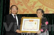 Truy tặng diễn viên Văn Hiệp danh hiệu nghệ sỹ ưu tú