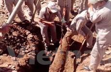 Quảng Trị phát hiện, xử lý an toàn quả bom 500kg