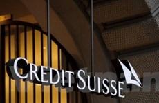 Lợi nhuận của ngân hàng Credit Suisse giảm mạnh