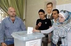 Bầu cử quốc hội Syria: 51% số cử tri đi bỏ phiếu
