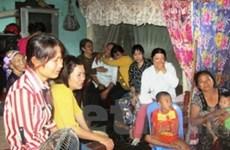 Quảng Bình: Giúp gia đình nạn nhân vụ cháy ở Nga