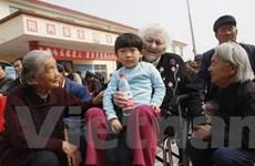 Cơ cấu dân số già hóa ở Trung Quốc đang thay đổi