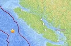 Canada: Động đất làm rung chuyển đảo Vancouver