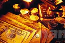 Giá vàng xuống mức thấp nhất trong một tháng qua