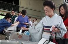 Số cử tri Nhật Bản bỏ phiếu sớm 5 ngày đầu giảm