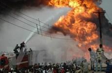 Nổ ống dẫn nhiên liệu ở Nigeria làm 30 người chết
