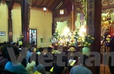 Lễ cầu an đầu xuân tại Trúc Lâm Thiền Viện ở Pháp