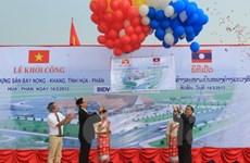 Việt Nam giúp Lào xây sân bay quốc tế Nọng Khang