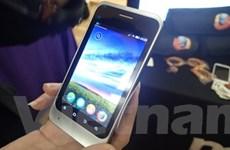 Mẫu điện thoại Firefox OS xuất hiện trên thị trường