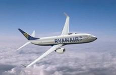 Hãng Ryanair đạt 569 triệu euro lợi nhuận sau thuế