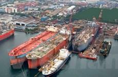 Nhà máy đóng tàu lớn nhất Tây nam Á đi vào hoạt động