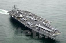 Mỹ rút phần lớn tàu chiến khỏi khu vực bờ biển Syria