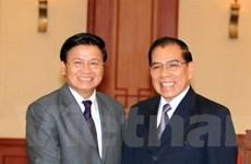 Tổng Bí thư tiếp đoàn Ban Đối ngoại Trung ương Lào