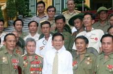 Chủ tịch nước tiếp cựu chiến sĩ Tiểu đoàn K3