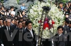 Phái đoàn Triều Tiên tới viếng ông Kim Dae-Jung