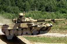 Ấn Độ chế tạo xe tăng chống vũ khí phóng xạ