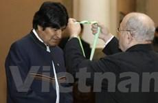 Tôn vinh Tổng thống Bolivia vì bảo vệ môi trường
