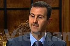 Syria ủng hộ một thỏa thuận hòa bình với Israel
