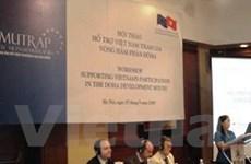 EC tài trợ xây dựng các chính sách thương mại