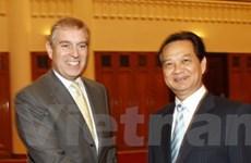 Thủ tướng Nguyễn Tấn Dũng tiếp Hoàng tử Anh