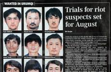 Kết án tử hình 6 bị cáo vụ bạo loạn ở Tân Cương