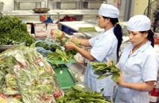 Tổng kiểm tra rau an toàn trong siêu thị tại Hà Nội