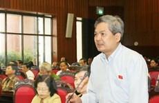Cử tri Hà Nội đóng góp ý kiến phát triển kinh tế-xã hội