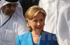 Hillary đến Ai Cập thảo luận hòa bình Trung Đông