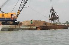 Tiếp tục xuất khẩu cát không thuộc cát xây dựng