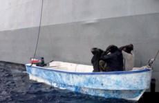 Cướp biển bắt cóc tàu hàng với thủy thủ Triều Tiên