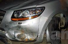 Say rượu lái xe gây tai nạn liên hoàn tại Hà Nội