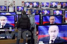 Thủ tướng Putin trả lời trực tuyến người dân Nga