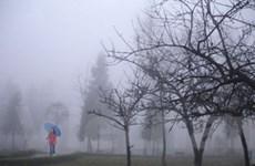 Không khí lạnh gây mưa nhỏ và rét ở miền Bắc