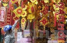 Hàng hóa Tết ở Hà Nội dồi dào và bình ổn giá