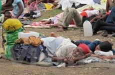 Quốc tế triển khai các biện pháp cứu trợ Haiti