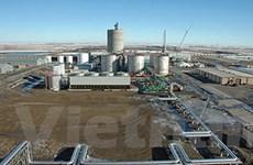 Nhà máy điện nhiên liệu ethanol đầu tiên thế giới