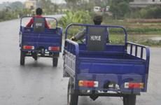 Hà Nội hỗ trợ thay thế xe thô sơ, ba bánh