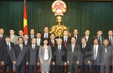 Chủ tịch Quốc hội tiếp các Đại sứ mới được bổ nhiệm