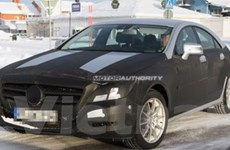 Lộ ảnh của mẫu xe sang Mercedes-Benz CLS 2011
