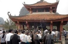 1.000 doanh nhân dự lễ cầu an tại chùa Bái Đính