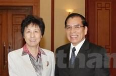 Phát triển quan hệ đối tác chiến lược Việt-Trung