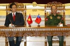 Tuyên bố chung về hợp tác Việt Nam-Myanmar