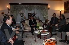 Đại sứ quán Việt Nam tại Canada gặp gỡ Việt kiều