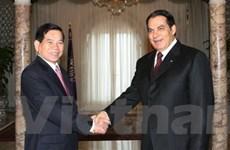 Việt Nam coi trọng phát triển quan hệ với Tunisia
