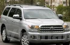Toyota lại thu hồi xe Sequoia do phanh… đột ngột