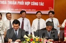 Bộ Công Thương-TTXVN thỏa thuận phối hợp công tác
