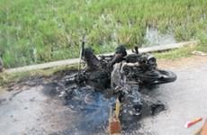 Một kẻ trộm chó mèo bị thiêu cháy tại Nghệ An
