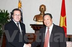 Quan hệ VN-Uruguay đạt bước phát triển tích cực