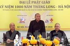 Đại lễ Phật giáo 1.000 năm Thăng Long-Hà Nội